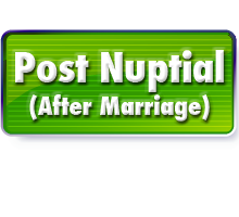 After Marriage - postnup