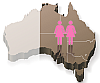 Gay Female de facto Agreement for all states except WA