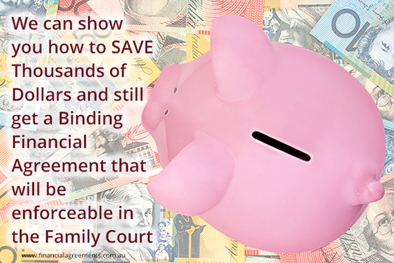 save thousands on a financial agreement